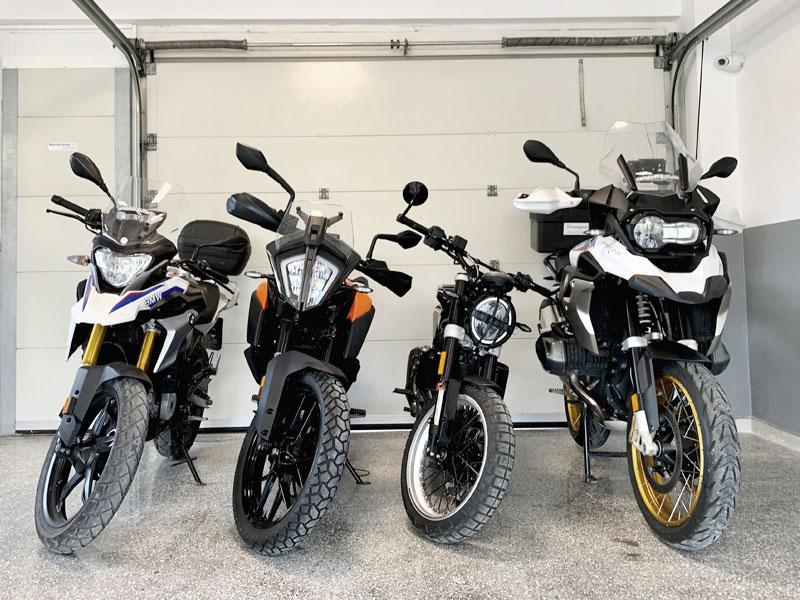 motorcycle storage and rental rafina